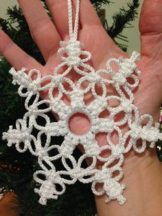 Items similar to snowflake ornament, set of 2 of your choice on Etsy – christmas decorations Diy Christmas Fireplace, Diy Christmas Snowflakes, Snowflake Decorations, Crochet Christmas Ornaments, Crochet Snowflakes, Snowflake Ornaments, Snowman Ornaments, How To Make Ornaments, Christmas Decorations