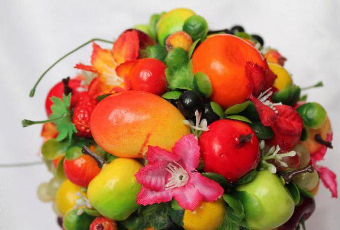 фруктовый топиарий своими руками