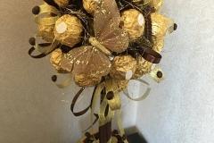 Крона шоколадных конфет