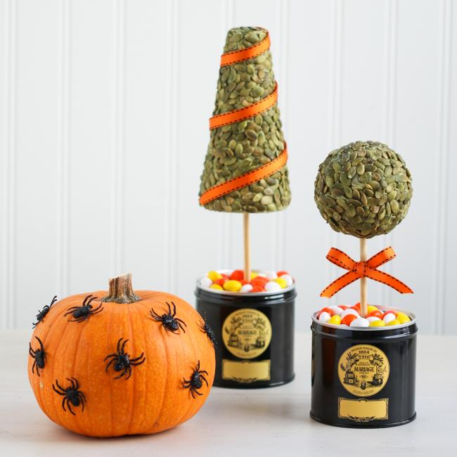 Шикарные украшения на хэллоуин