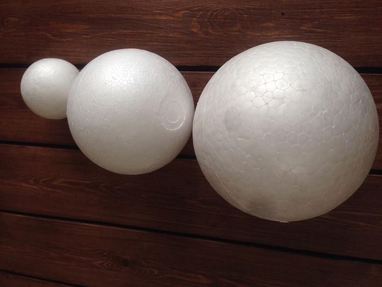 Единственный минус в полых шариках – их не просто закрепить на стволе. Так что проще всего всё же найти пенопластовую основу