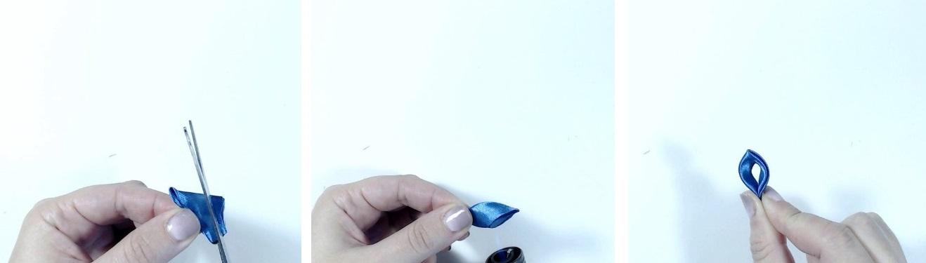 Заколки канзаши из лент своими руками: для детей, для взрослых, маленькие, автомат, МК с фото, видео