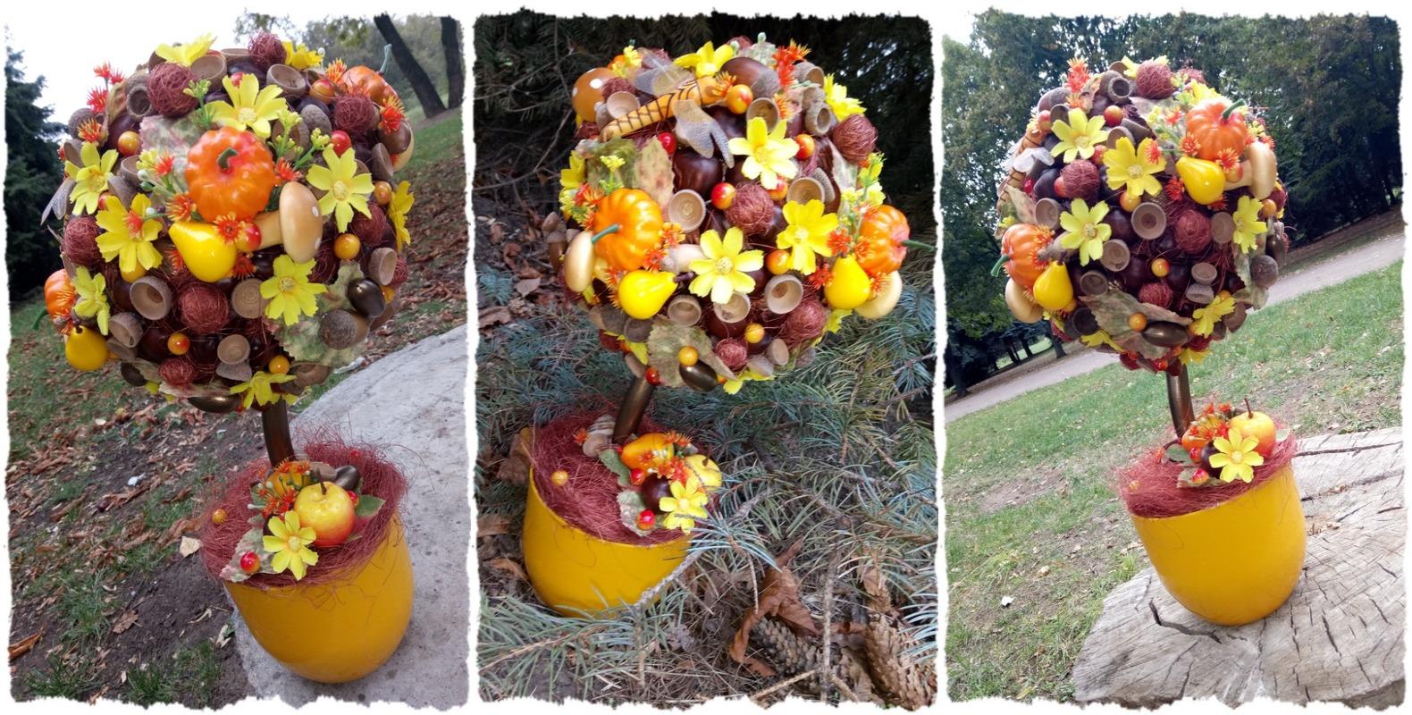 Осенний топиарий Волшебная поляна