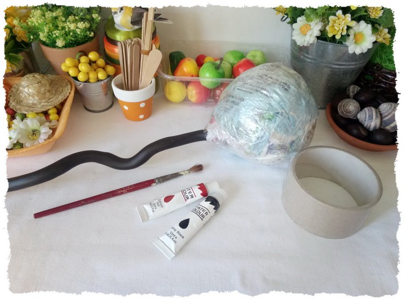 Топиарий из фруктов и овощей - пошаговый мастер-класс фото 5