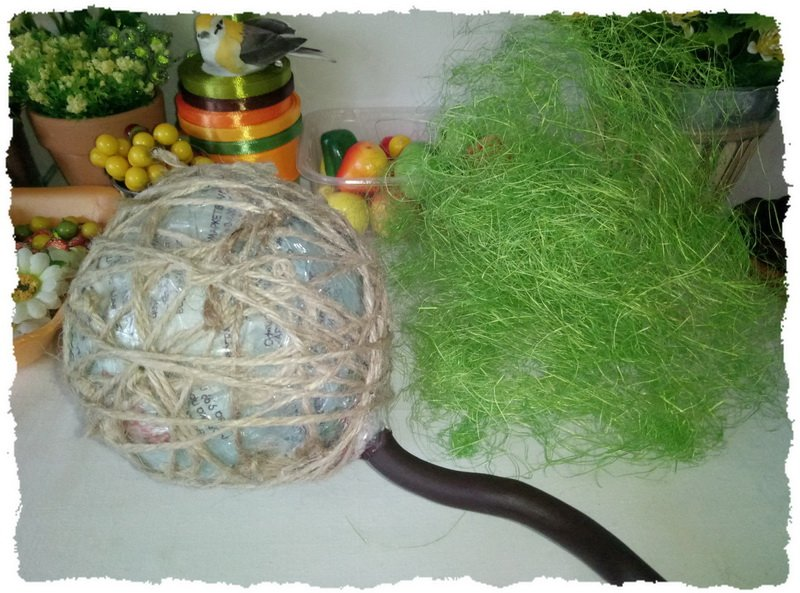 Топиарий из фруктов и овощей - пошаговый мастер-класс фото 6