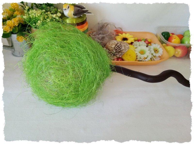 Топиарий из фруктов и овощей - пошаговый мастер-класс фото 7