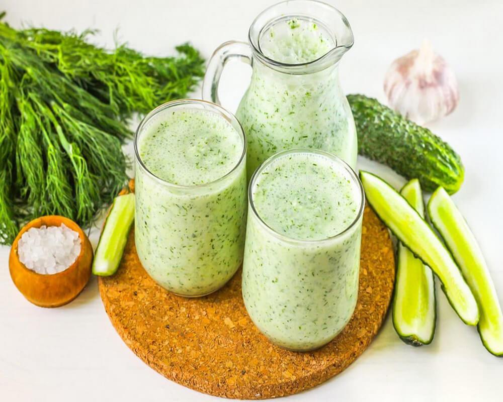 Кефирно-огуречная диета: полезное похудение для гурманов