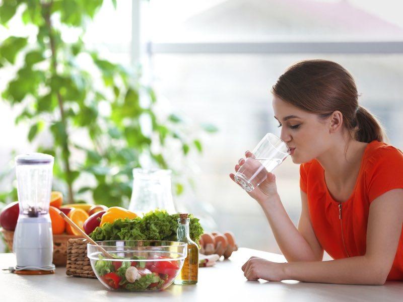 Советы по питанию для худеющих, если на улице жарко