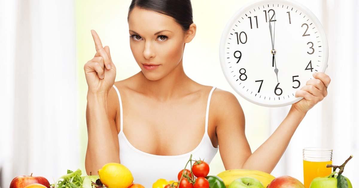 Еда по времени: принципы похудения