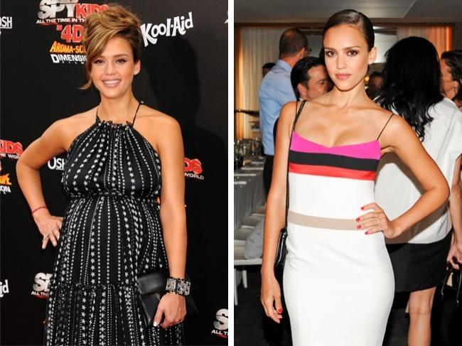 Эффективный метод похудения Джессики Альбы: фото до и после