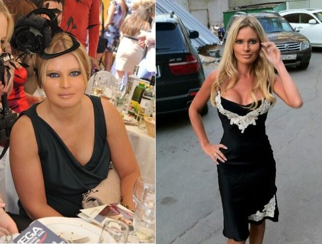 Как худела Дана Борисова: фото ведущей до и после