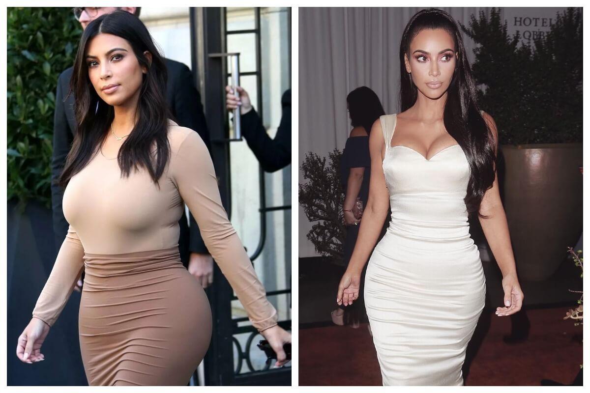 Как худела Ким Кардашьян: фото до и после