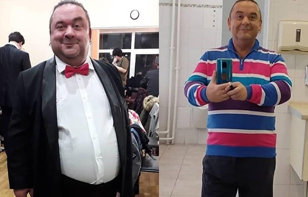 Как худел юморист Александр Морозов: фото до и после